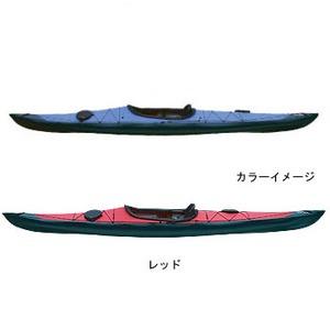 【送料無料】フジタカヌー(FUJITA CANOE) 430 TREK(トレック)【EX】 D:レッドB:チャコールグレー PE-1