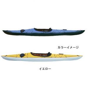 【送料無料】フジタカヌー(FUJITA CANOE) 430 TREK(トレック)【EX】 D:イエローB:チャコールグレー PE-1