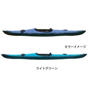 【送料無料】フジタカヌー(FUJITA CANOE) 430 TREK(トレック)【EX】 D:ライトグリーンB:チャコールグレー PE-1
