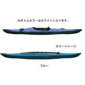 【送料無料】フジタカヌー(FUJITA CANOE) 430 TREK(トレック)【STD】 D:ブルーB:ホワイト PE-1