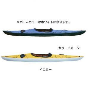 【送料無料】フジタカヌー(FUJITA CANOE) 430 TREK(トレック)【STD】 D:イエローB:ホワイト PE-1