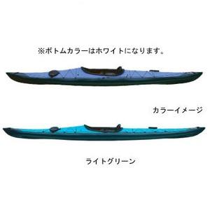 【送料無料】フジタカヌー(FUJITA CANOE) 430 TREK(トレック)【STD】 D:ライトグリーンB:ホワイト PE-1