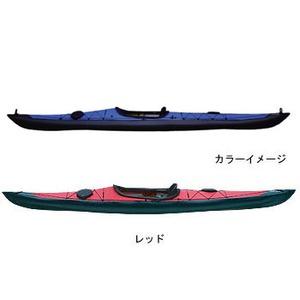 【送料無料】フジタカヌー(FUJITA CANOE) 500 SEASHORE(シーショア) D:レッドB:チャコールグレー PE-1