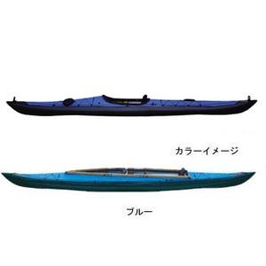 【送料無料】フジタカヌー(FUJITA CANOE) 500 SEASHORE(シーショア) D:ブルーB:チャコールグレー PE-1