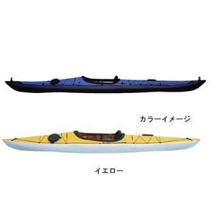 【送料無料】フジタカヌー(FUJITA CANOE) 500 SEASHORE(シーショア) D:イエローB:チャコールグレー PE-1