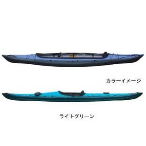 【送料無料】フジタカヌー(FUJITA CANOE) ALPINA-2(アルピナ2) 430 EX D:ライトグリーンB:チャコールグレー