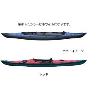 【送料無料】フジタカヌー(FUJITA CANOE) ALPINA-2(アルピナ2) 430 STD D:レッドB:ホワイト