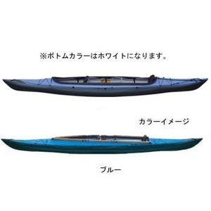 【送料無料】フジタカヌー(FUJITA CANOE) ALPINA-2(アルピナ2) 430 STD D:ブルーB:ホワイト
