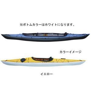 【送料無料】フジタカヌー(FUJITA CANOE) ALPINA-2(アルピナ2) 430 STD D:イエローB:ホワイト