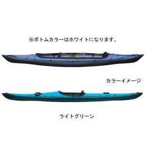 【送料無料】フジタカヌー(FUJITA CANOE) ALPINA-2(アルピナ2) 430 STD D:ライトグリーンB:ホワイト