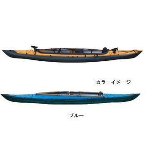 【送料無料】フジタカヌー(FUJITA CANOE) ALPINA-2(アルピナ2) 430 フィッシングモデル D:ブルーB:チャコールグレー