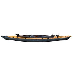【送料無料】フジタカヌー(FUJITA CANOE) ALPINA-2(アルピナ2) 430 フィッシングモデル D:イエローB:チャコールグレー