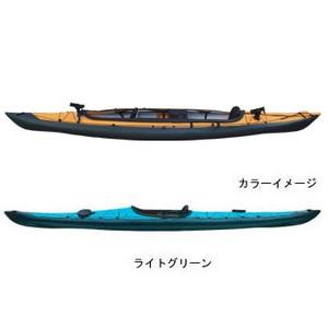 【送料無料】フジタカヌー(FUJITA CANOE) ALPINA-2(アルピナ2) 430 フィッシングモデル D:ライトグリーンB:チャコールグレー
