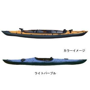 【送料無料】フジタカヌー(FUJITA CANOE) ALPINA-2(アルピナ2) 430 フィッシングモデル D:ライトパープルB:チャコールグレー