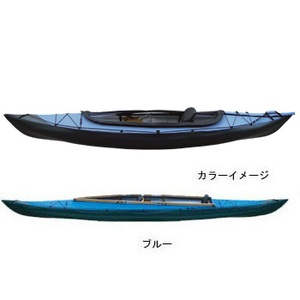 【送料無料】フジタカヌー(FUJITA CANOE) ALPINA-1(アルピナ1) 310EX D:ブルーB:チャコールグレー