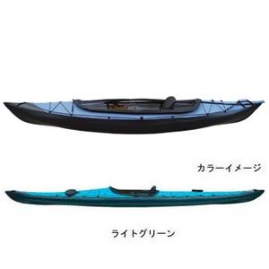 【送料無料】フジタカヌー(FUJITA CANOE) ALPINA-1(アルピナ1) 310EX D:ライトグリーンB:チャコールグレー