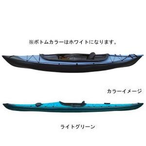 【送料無料】フジタカヌー(FUJITA CANOE) ALPINA-1(アルピナ1) 310 D:ライトグリーンB:ホワイト