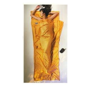 【送料無料】COCOON(コクーン) ST71 トラベルシーツ 100%シルク サンセットオレンジ 12550001005000
