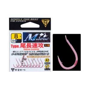 がまかつ(Gamakatsu) Mシステム A1(エーワン)タイプ 尾長速攻 バラ針