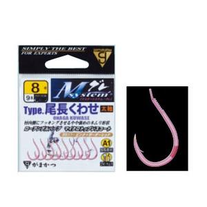 がまかつ(Gamakatsu) Mシステム A1(エーワン)タイプ 尾長くわせ バラ針