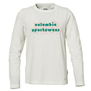 Columbia(コロンビア) ウィメンズ バブルロゴファンTシャツ S 125(Sea Salt)