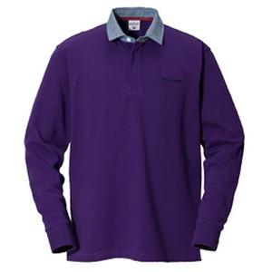 Columbia(コロンビア) オークヒルラグビーシャツ S 559(UW Purple)