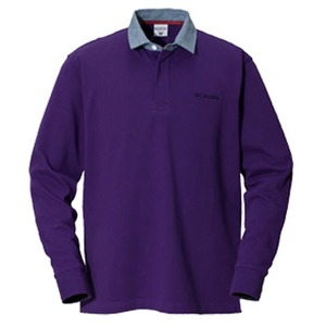Columbia(コロンビア) オークヒルラグビーシャツ XS 559(UW Purple)