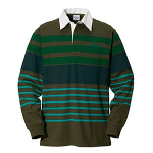 Columbia(コロンビア) ノーウェアラグビーシャツ S 319(Olive Green)