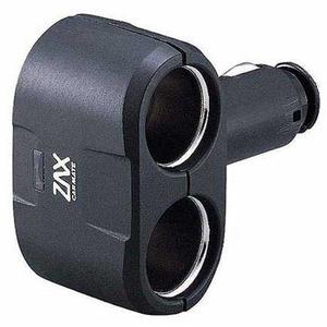 カーメイト(CAR MATE) ダイレクト2レンソケット ブラック CZ258