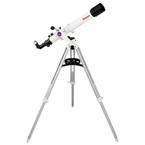 【送料無料】ビクセン(Vixen) 天体望遠鏡ミニポルタ A70Lf ホワイト・ブラック 39941