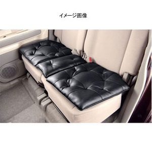 【送料無料】BONFORM(ボンフォーム) ソフトレザーステッチ 後席用 110cm BK(ブラック) 57773408