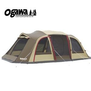 【送料無料】小川キャンパル(OGAWA CAMPAL) ヴェレーロ5 5人用 ブラウンxサンドxレッド 2759