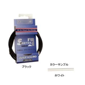 GIZA PRODUCTS(ギザプロダクツ) STARTEK ブレーキ アウター ケーブル 1.8m ホワイト CBB02301