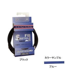 GIZA PRODUCTS(ギザプロダクツ) STARTEK ブレーキ アウター ケーブル 1.8m ブルー CBB02302