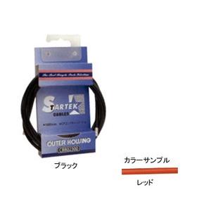 GIZA PRODUCTS(ギザプロダクツ) STARTEK ブレーキ アウター ケーブル 1.8m レッド CBB02303