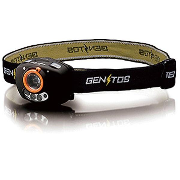 GENTOS(ジェントス) デルタピーク DPX-143H 最大125ルーメン 単四電池式 DPX-143H ヘッドランプ