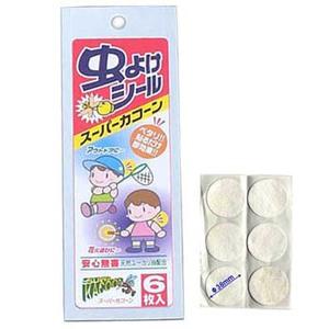 エーワン 虫よけシール 6枚入(単品) SK-6