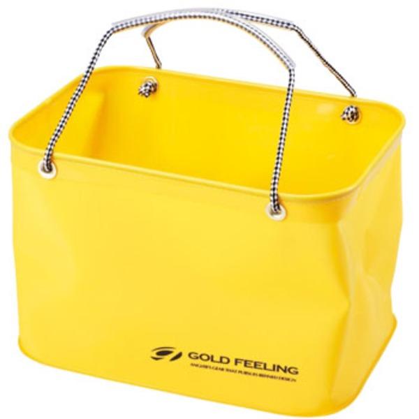 ゴールドフィーリング(GOLD FEELING) EVA角手提 33 EG-033 バッカン・バケツ・エサ箱