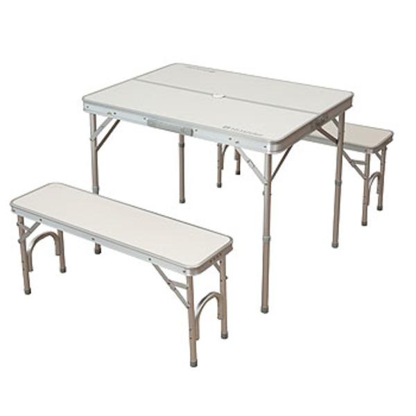 Hilander(ハイランダー) セパレートベンチテーブルセット 4人用 HCA0012 テーブル・チェアセット
