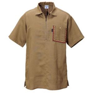 Columbia(コロンビア) ディースハーフジップシャツ M 204(Dune)
