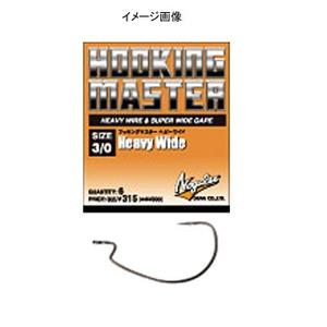 モーリス(MORRIS) フッキングマスター ヘビーワイド 橙 #1/0 NSブラック 69701
