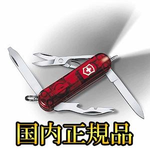 VICTORINOX(ビクトリノックス) 【国内正規品】ミッドナイトマネージャーT 0.6366.T WL ライト付きツールナイフ