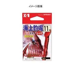 カツイチ(KATSUICHI) 海上釣堀K-1マダイレッド 8号 赤