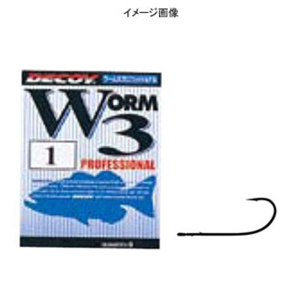 カツイチ(KATSUICHI) ワ-ム3 プロフェッショナル ワームフック(オフセット)