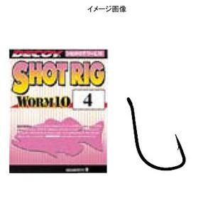カツイチ(KATSUICHI) ワ-ム10 ショットリグ