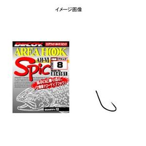 カツイチ(KATSUICHI) エリアフックタイプVI スピック シングルフック(トラウト用)