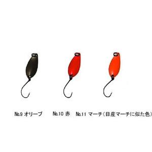 Aniデザイン(オフィス・ユーカリ) 心 1.2g No.9 オリーブ