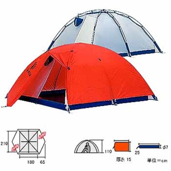ダンロップ(DUNLOP) V-4 本格派アルパインテント V-4 アルパインドームテント