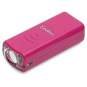 <ナチュラム> KMC(ケイエムシー) i-L ハイパワー1LEDヘッドライト<MX400/前照灯>(ピンク) ピンク Y-9177
