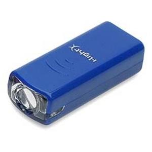 <ナチュラム> KMC(ケイエムシー) i-L ハイパワー1LEDヘッドライト<MX400/前照灯>(ブルー) ブルー Y-9178